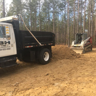 land clearing in milford va and bowling green va